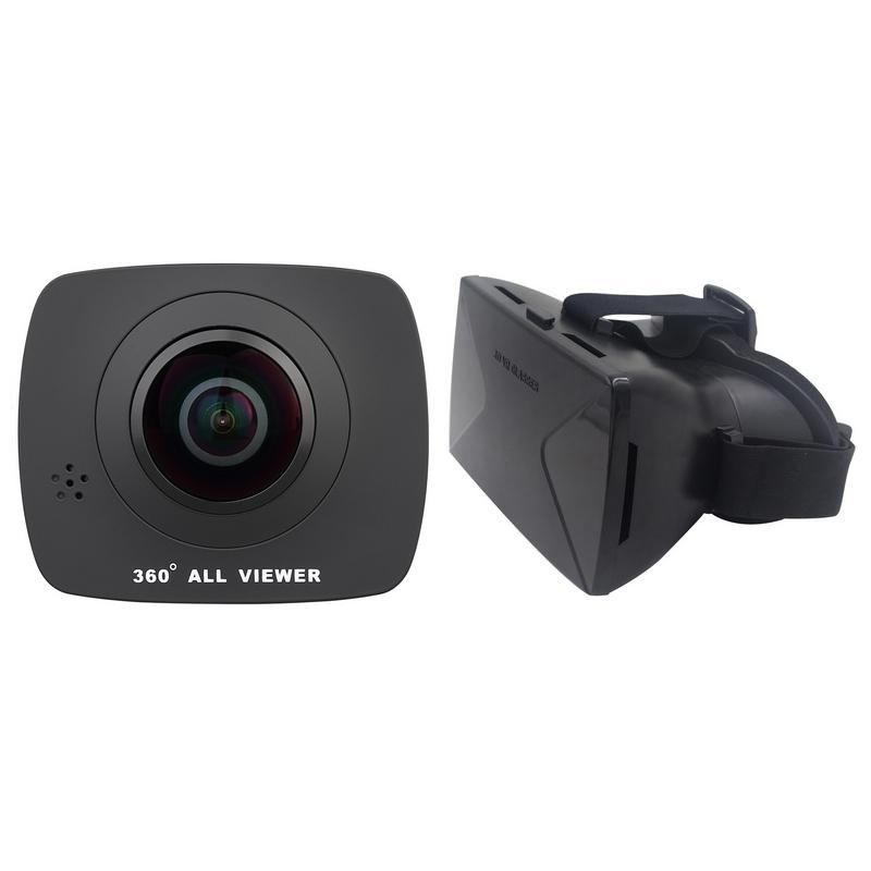 Pack Nk AC3091 360 Videocámara Deportiva + GV3059 Gafas de Realidad Virtual NFC