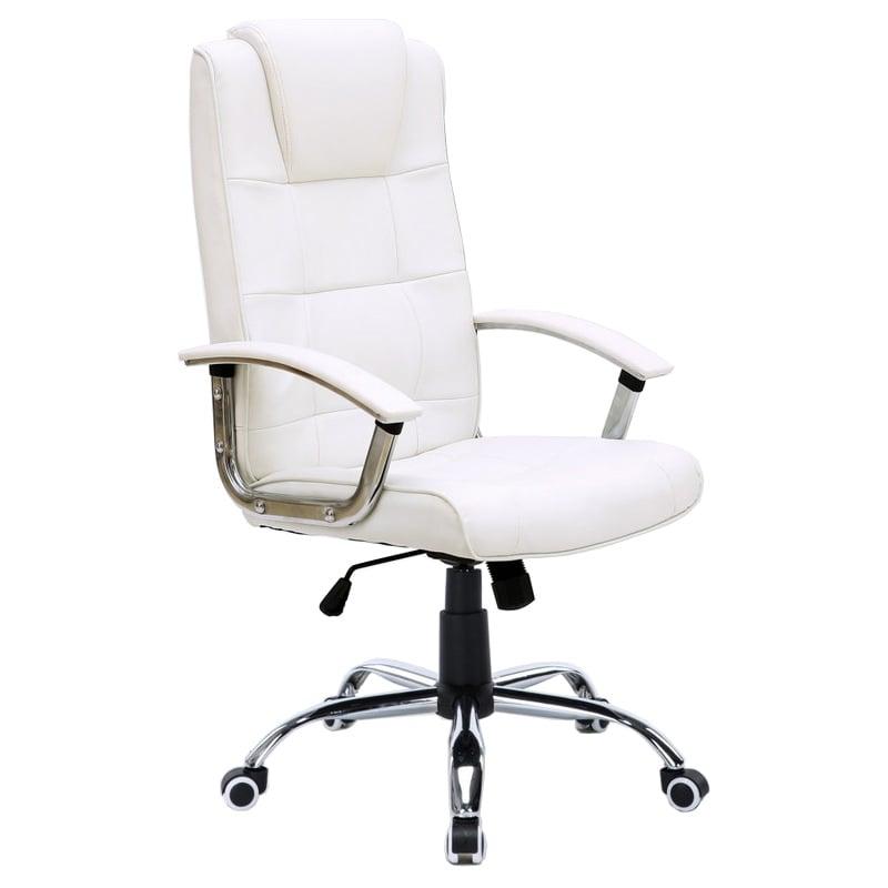Silla de oficina stanford blanca for Silla de oficina racing