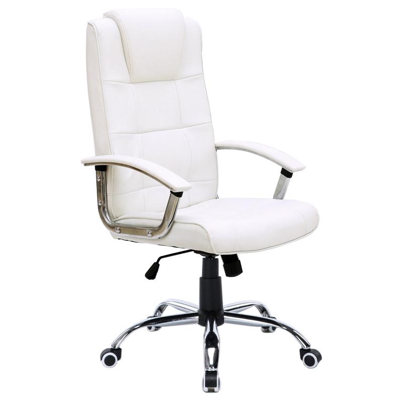 Silla de oficina stanford blanca for Sillas oficina