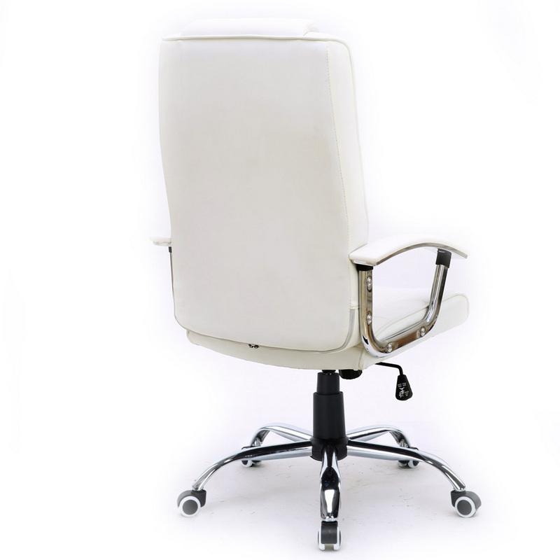 Silla de oficina stanford blanca - Funda silla escritorio ...