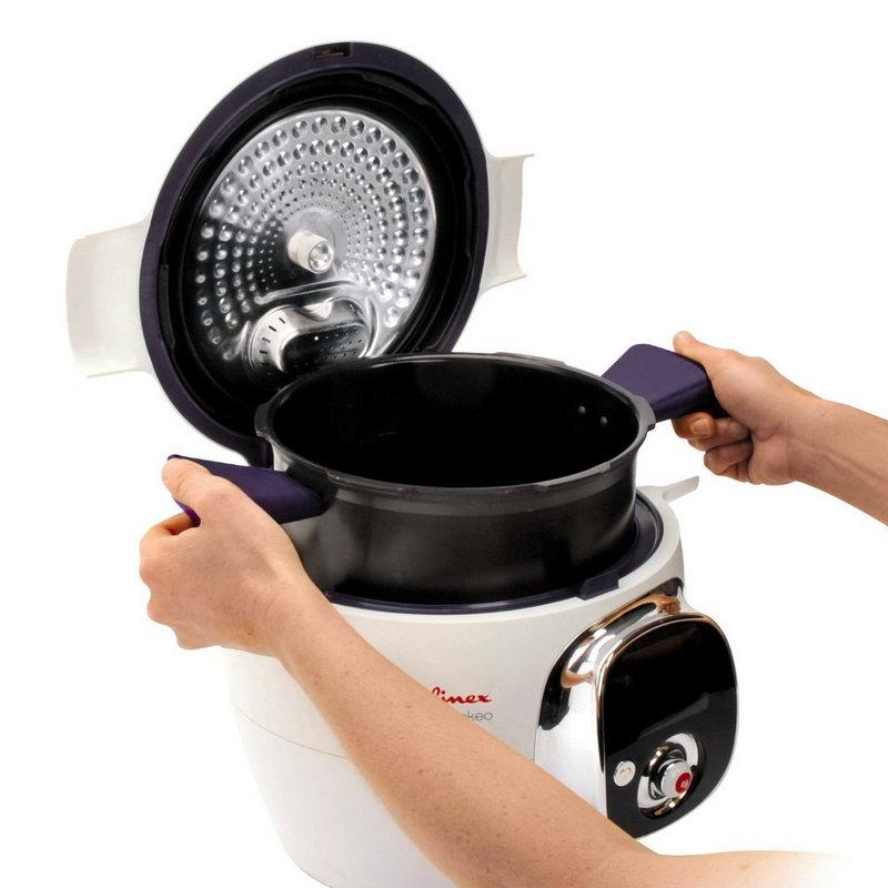 Moulinex cookeo robot de cocina pccomponentes for Moulinex robot cocina
