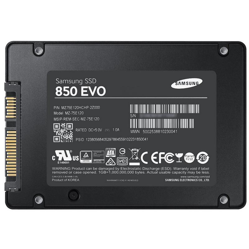 Samsung 850 Evo SSD Series 250GB SATA3