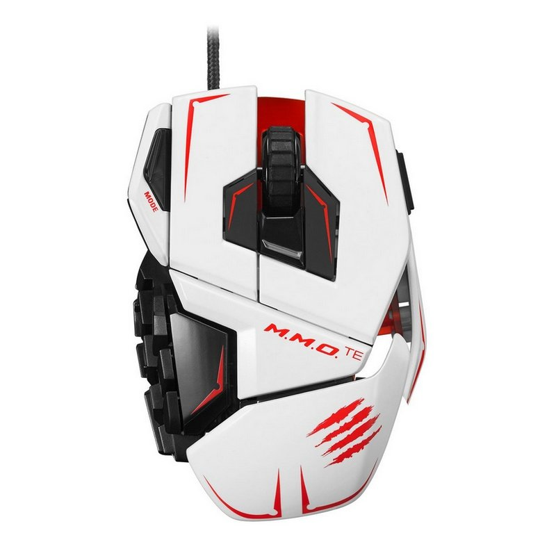 Mad Catz R.A.T MMO TE Tournament Edition Blanco |PcComponentes
