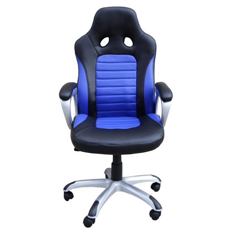 Kloner ksgt silla gaming azul negra pccomponentes for Sillas para hoverboard