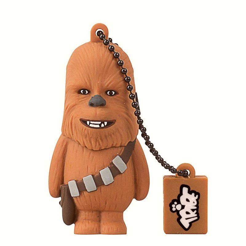 tribe chewbacca pen drive star wars 8gb usb pccomponentes. Black Bedroom Furniture Sets. Home Design Ideas