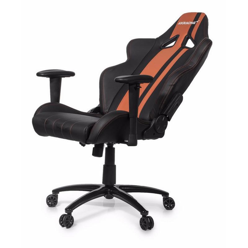 Akracing rush silla gaming negra marron pccomponentes for Silla gamer razer