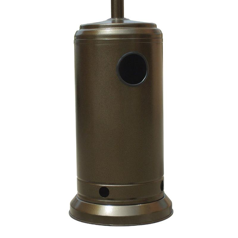 Estufa exterior gas butano 13000w dorada pccomponentes - Estufa gas butano ...