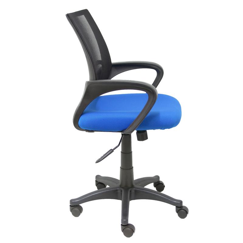 Silla oficina herzo azul reacondicionado pccomponentes for Oficina zona azul ibiza