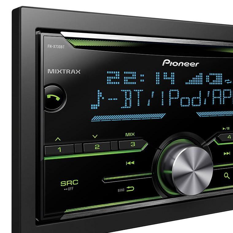 pioneer fh x730bt autoradio multimedia usb pccomponentes. Black Bedroom Furniture Sets. Home Design Ideas