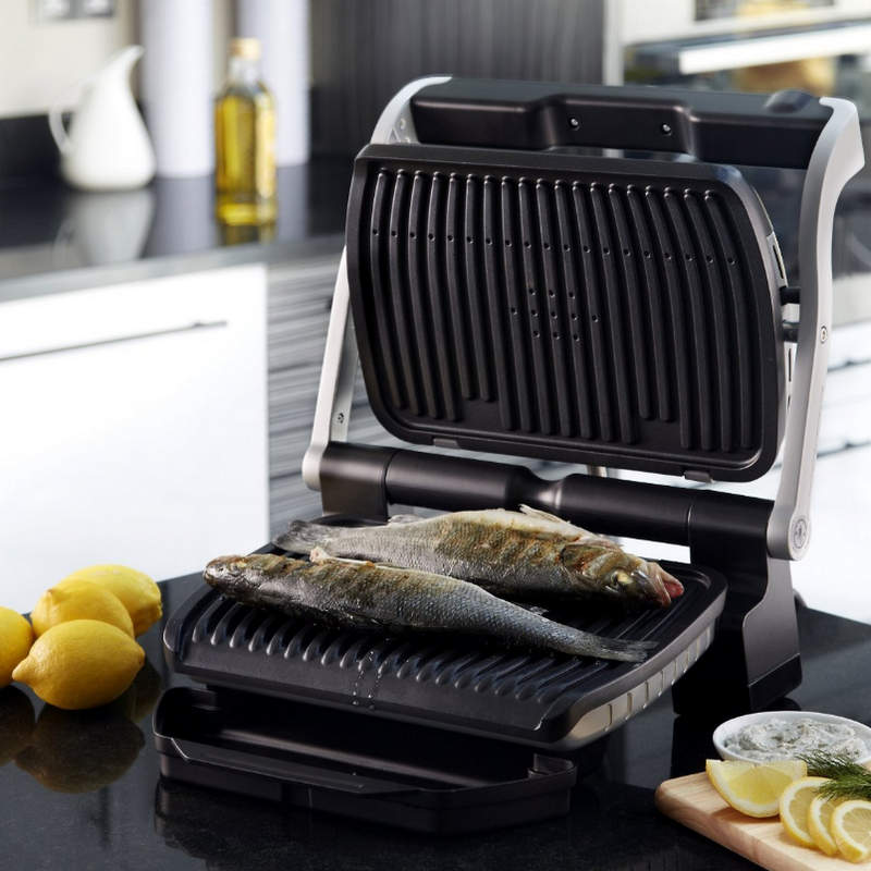 tefal gc712d12 optigrill sandwichera grill 2000w. Black Bedroom Furniture Sets. Home Design Ideas