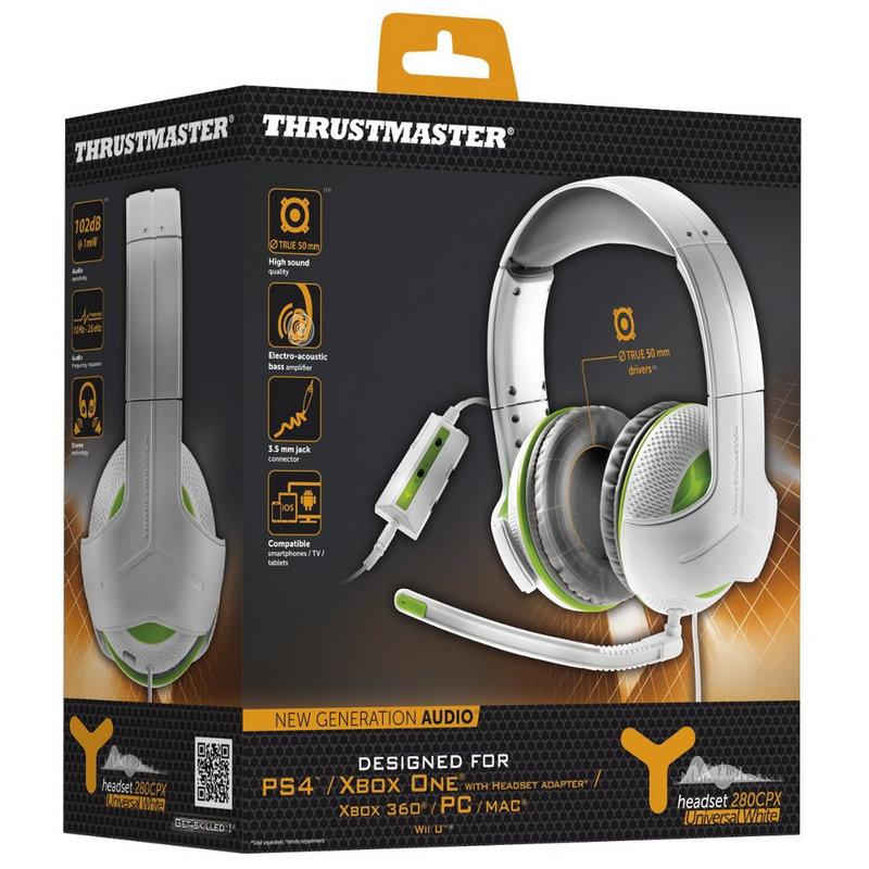 Thrustmaster Y-280CPX Gaming PC/PS4/XboxOne/Xbox360/WiiU/MAC