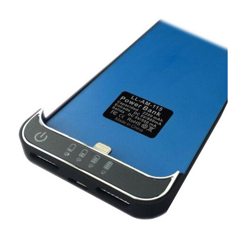 L link funda bater a negra para iphone 5 5s 5c - Funda bateria iphone 5c ...
