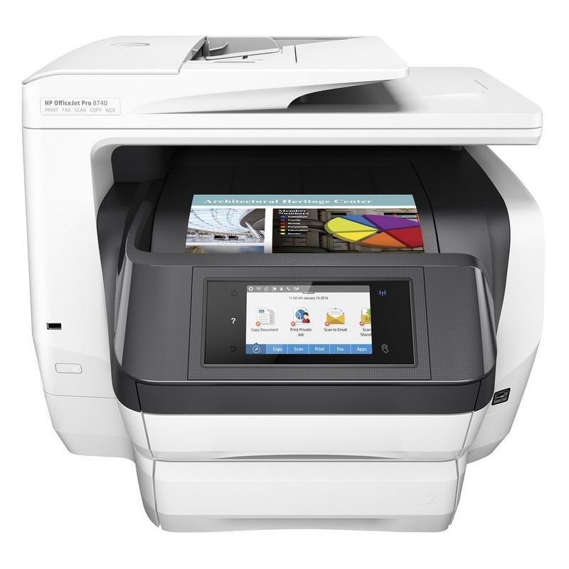 HP Officejet Pro 8740 Multifunción Color WiFi