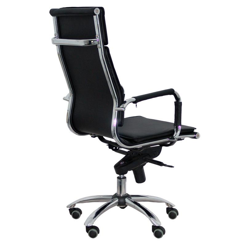Silla oficina harvard negra for Silla de escritorio precio