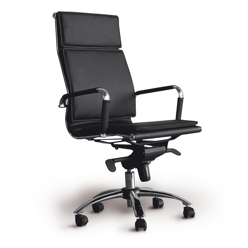 Silla oficina harvard negra for Sillas para oficina sodimac