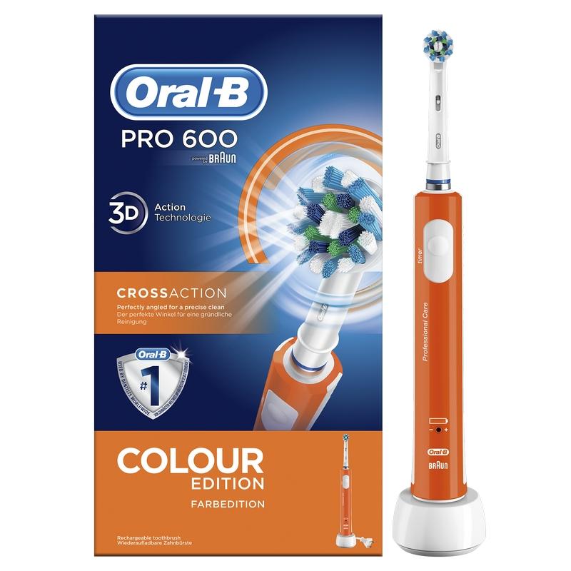 Oral-B PRO Care 600 Cross-Action Naranja 89da9e520925