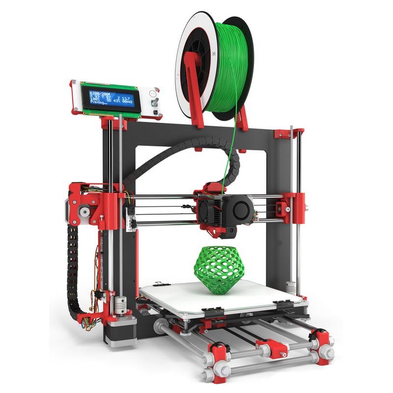 Bq hephestos impresora 3d roja for Videos de impresoras 3d