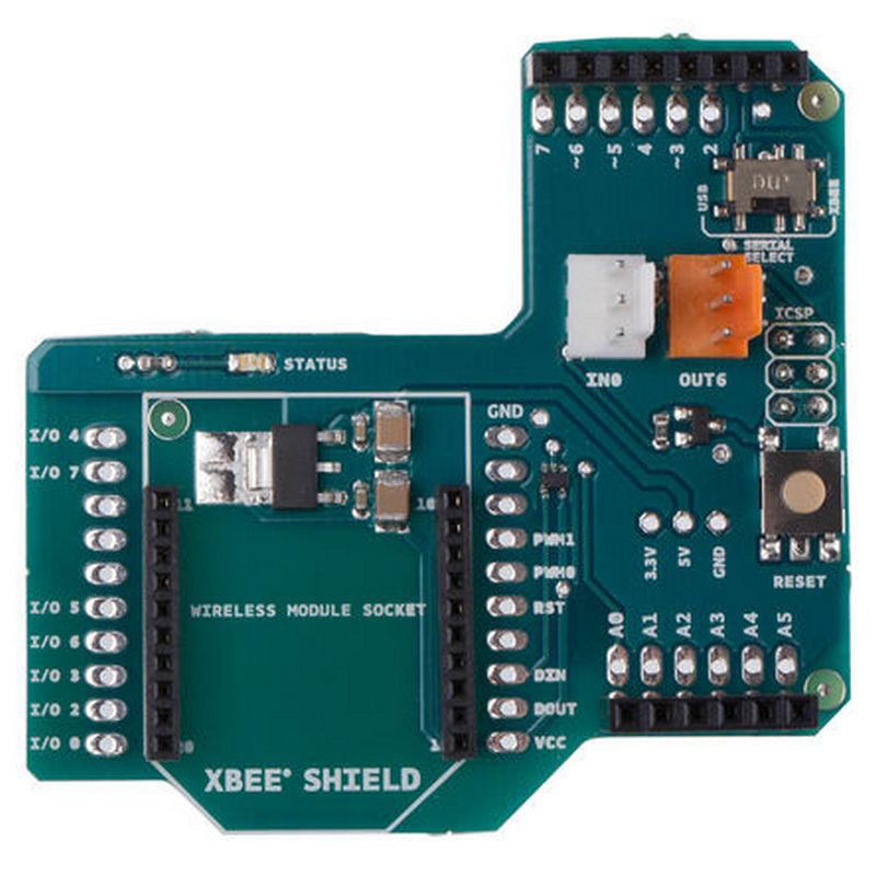 Arduino xbee shield placa de extensión para