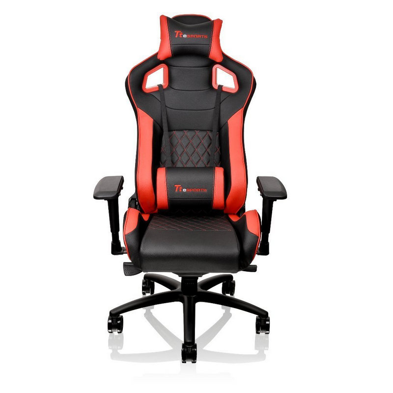 Thermaltake ttesports gt fit silla gaming negra roja for Sillas gaming black friday