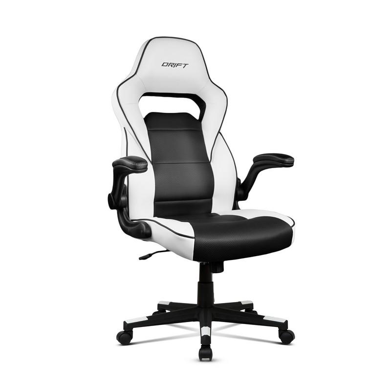 b8b052e61 Cadeira Drift DR75 Gaming Branca Preta