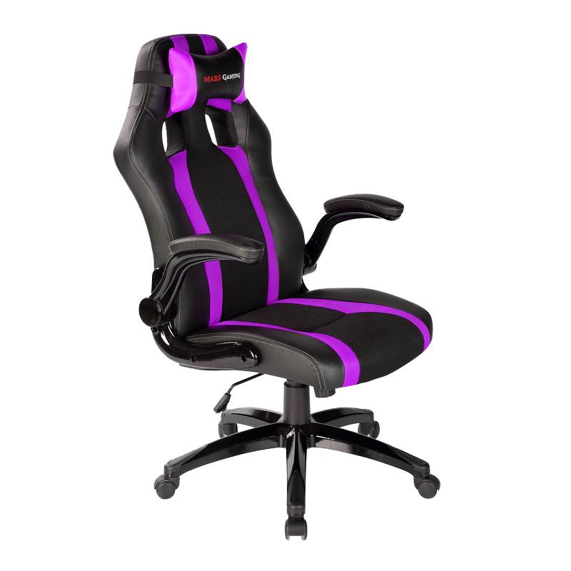 Tacens mars gaming mgc2bp silla gaming negra morada - Ofertas sillas gaming ...