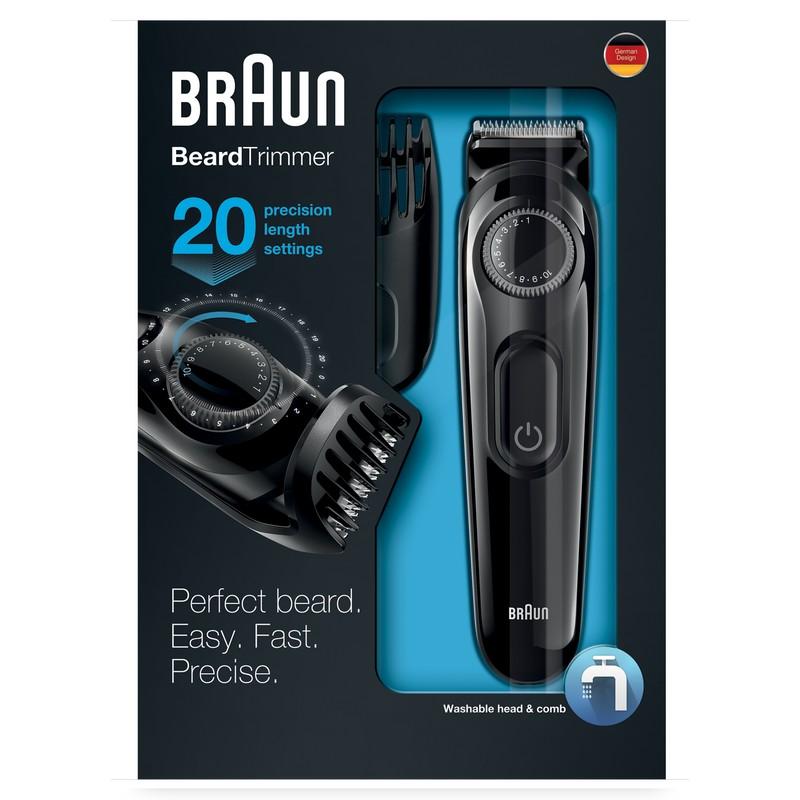 Aparador Barba Braun ~ Braun BT3020 Aparador de Barba