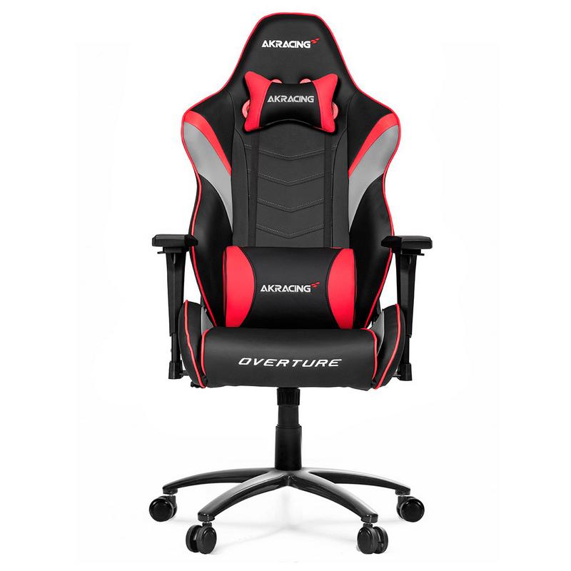 Akracing overture silla gaming roja for Sillas comodas para pc