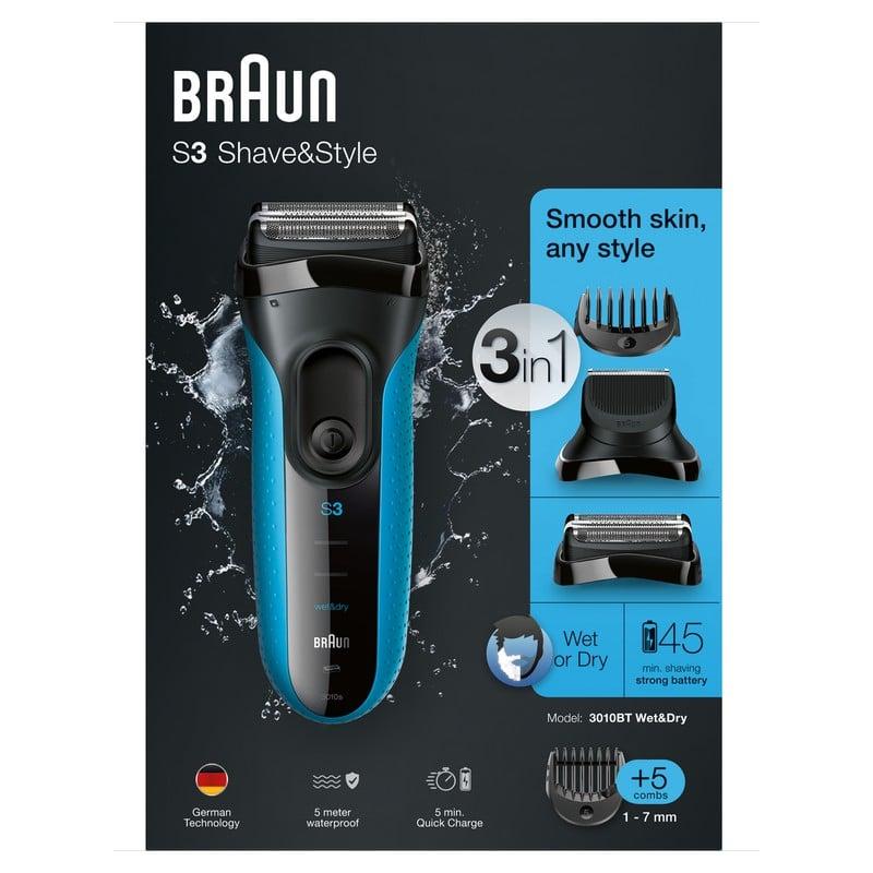 Braun Series 3 Shave   Style Afeitadora 5a2774667bc7