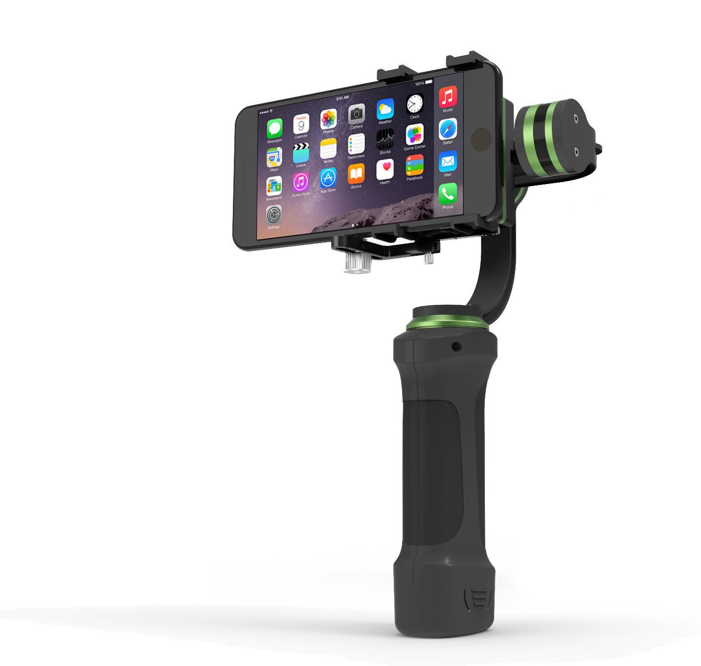 Nk estabilizador de 3 eixos para iphone e c maras de aventura for Estabilizador de camara