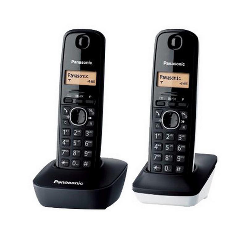 565ccb67936 Panasonic KX-TG1612 Dúo Teléfono Inalámbrico Dect Negro