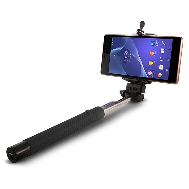 Ksix Wireless Selfie Monopod Negro