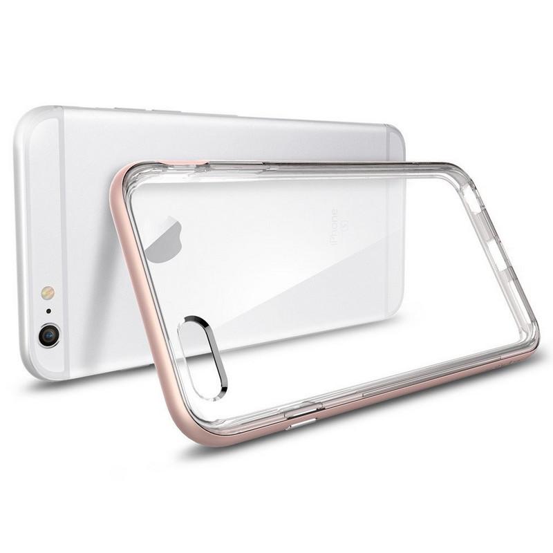 142201aab84 Spigen Funda SGP Neo Hybrid EX Rosa para iPhone 6 Plus/6S Plus