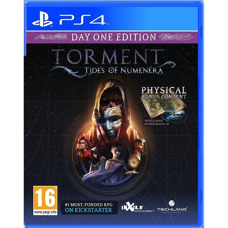 Torment: Tides of Numenera Day One PS4 - Consolas y Gaming-Juegos PS4-Techland