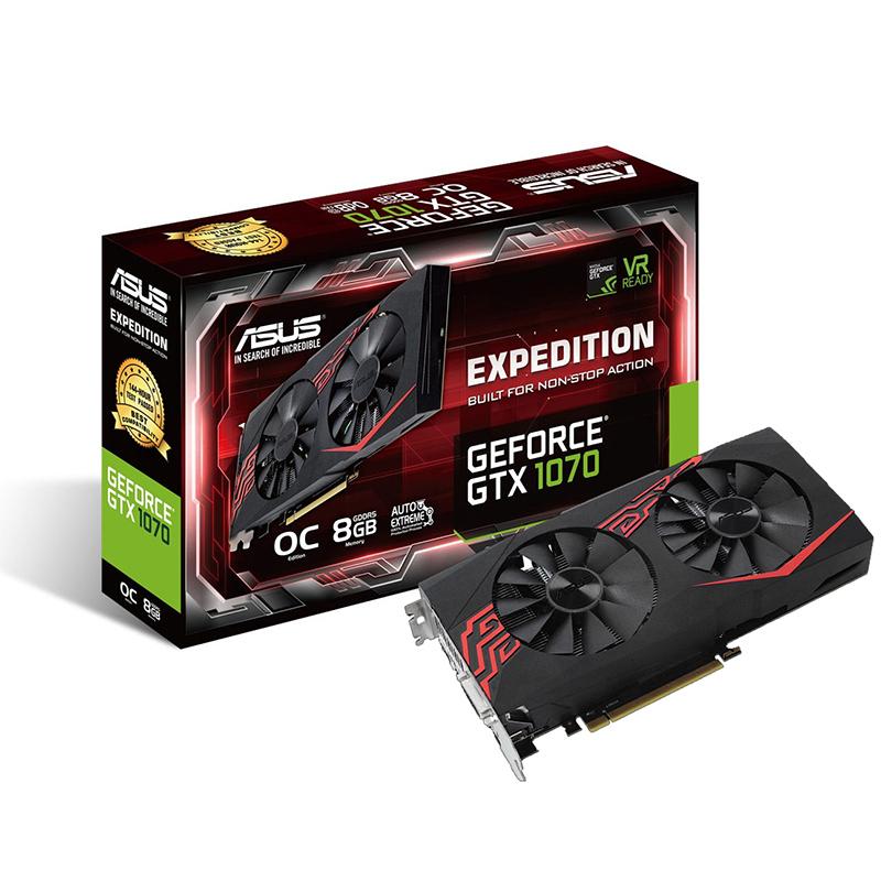 ASUS Expedition GeForce GTX 1070 OC Edition 8GB GDDR5