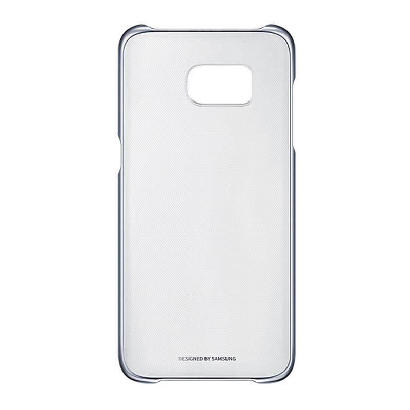 7a2c6a7c403 Samsung Funda Clear Cover Transparente y Negra para Samsung Galaxy S7 Edge