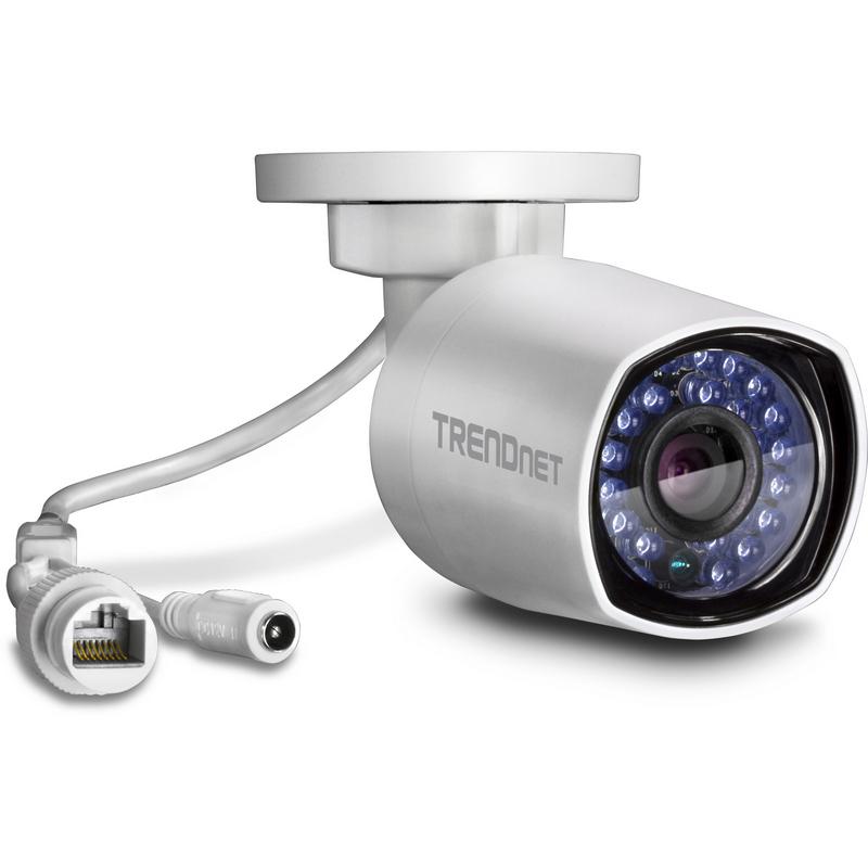 Trendnet tv ip314pi camera de vigilancia poe vis o nocturna - Camera de vigilancia ...