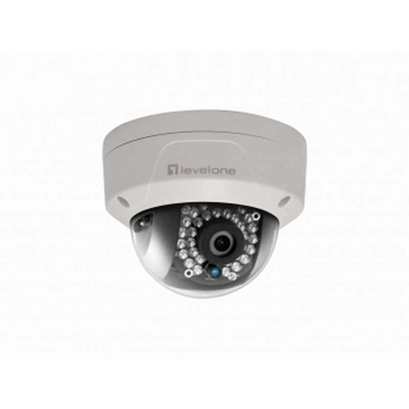Levelone fcs 3084 c mara de videovigilancia exterior domo poe - Camaras videovigilancia exterior ...