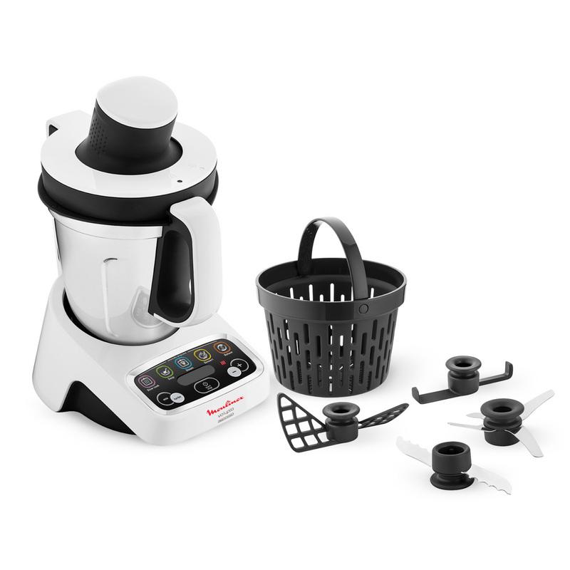 Moulinex volupta robot de cocina 1000w - Robot de cocina moulinex 25 en 1 ...