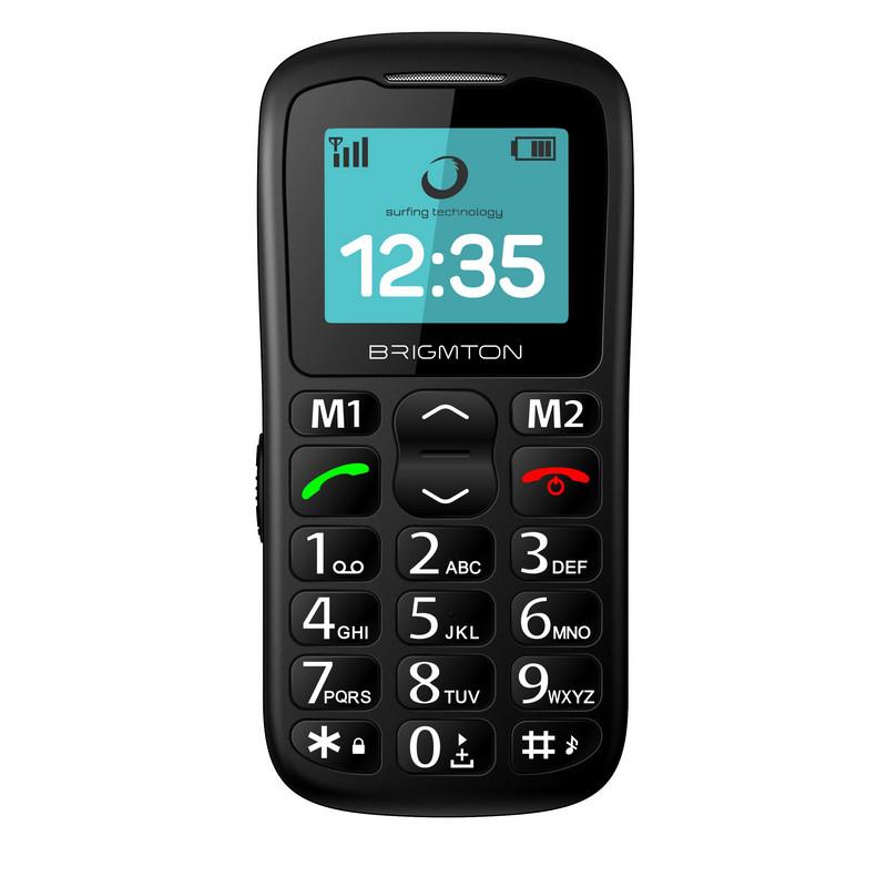 Brigmton BTM11 Teléfono Libre para Personas Mayores