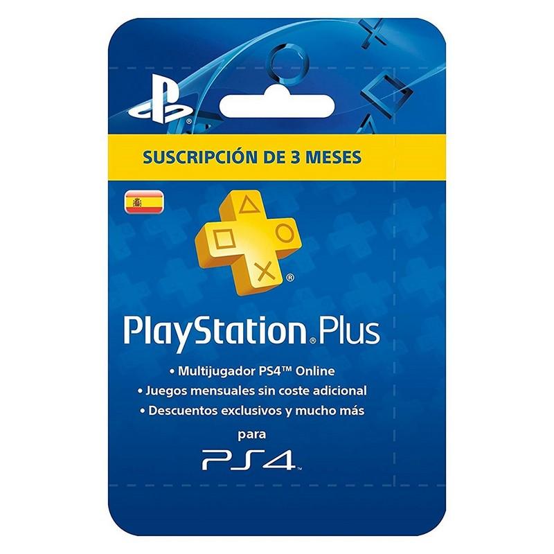 Sony PlayStation Plus PSN Suscripción 90
