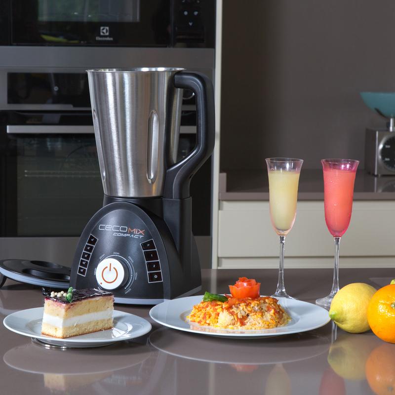 Cecotec Cecomix Compact Robot de Cocina | PcComponentes.com