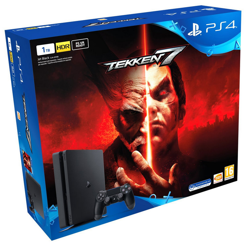 Sony PS4 PlayStation 4 Slim 1TB + Tekken 7