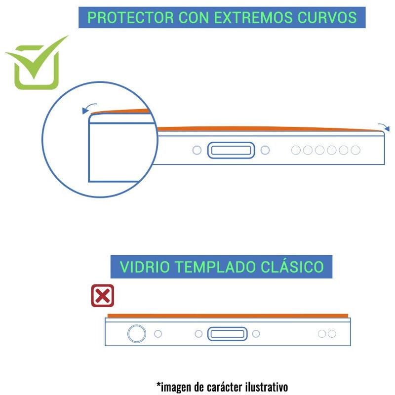 BeCool Protector Cristal 3D Templado Cobertura Total para Huawei ...