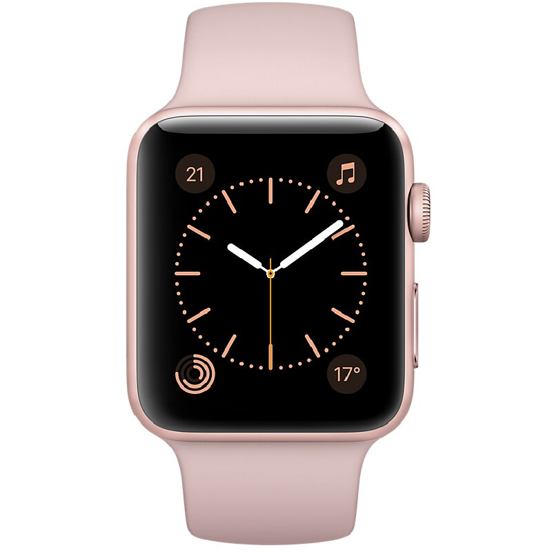 apple watch series 1 42mm smartwatch oro rosa. Black Bedroom Furniture Sets. Home Design Ideas