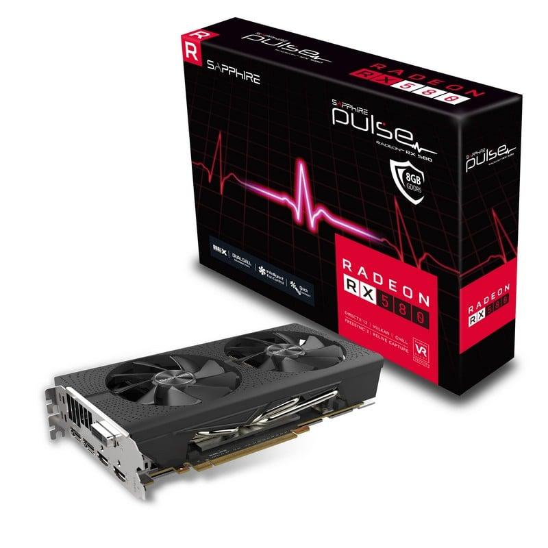 Sapphire Pulse Radeon RX 580 8GB