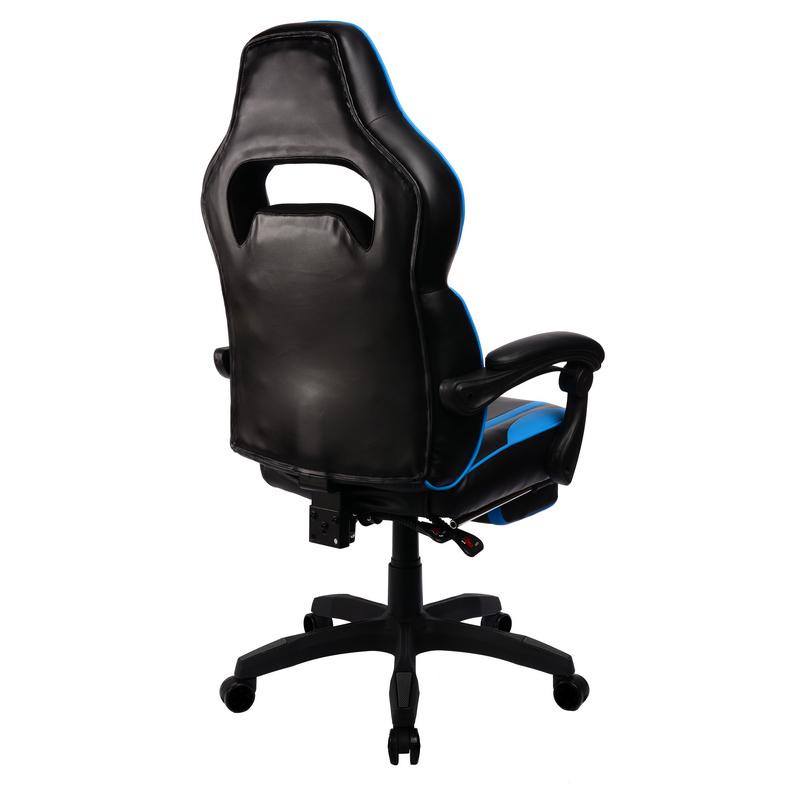 Cadeira Gaming F36 Preta Azul