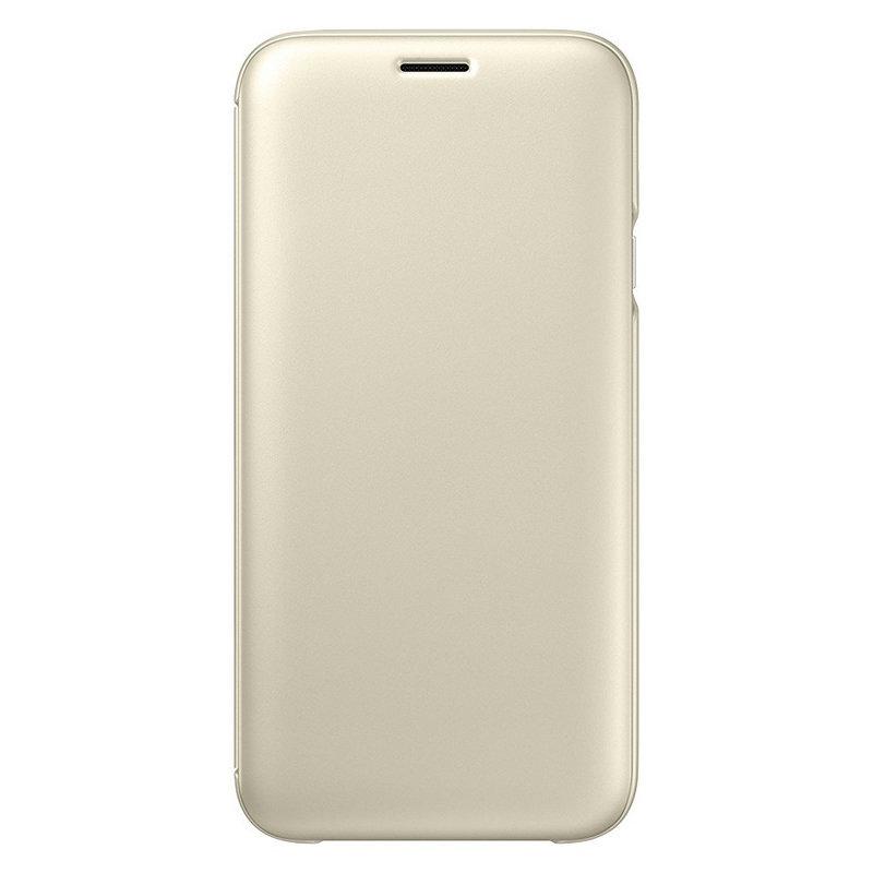 692587210e3 Samsung Wallet Cover Dorada para Galaxy J7 2017