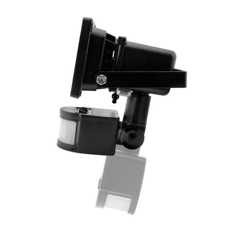 db18bbe0d618c Unotec Foco LED Exterior con Sensor de Movimiento y Placa Solar 10W