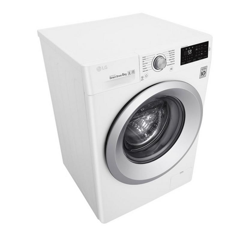 Lg f4j5tn4w lavadora de carga frontal 8kg a blanca - Opiniones lavadoras lg ...