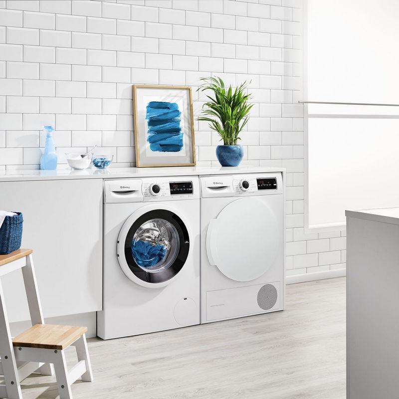 Balay 3ts976ba lavadora de carga frontal 7kg a blanca for Lavadoras pequenas carga frontal